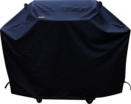 a1COVER Grill Cover,Heavy Duty Waterproof Barbeque Grill Covers Fits Weber, Holland, Jenn Air, Brinkmann, Char Broil, Medium, 58″
