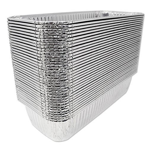 (70 Pack) Aluminum Foil Drip Pans Model 6417 Weber Grills Compatible l Size 11″ x 5″ x 2.5″ l Perfect Fit for Genesis II LX 400 600 series All-Purpose Summit 400 600 series Gold Platinum Gas Grill