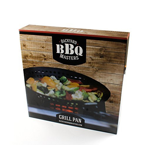 Backyard BBQ Masters Grill Pan