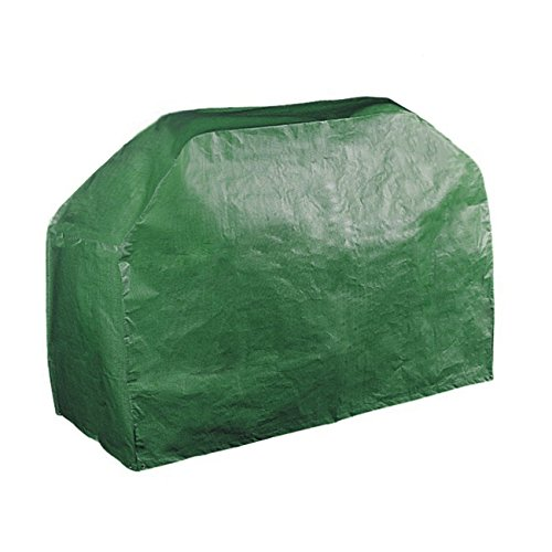 "61"" Grill Cover Garden Patio Outdoor Waterproof Dustproof BBQ Barbecue Gas Grill Wagon Burner Cover Table cover (Green, 61x24x38 Inches)"
