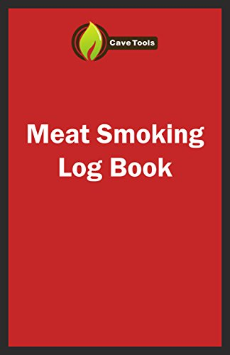 BBQ Smoker Recipe Journal Book with Grill Prep Notes for Sauces & Rubs a Smoker Time Log & Cooking Results – Includes Wood Smoking & Meat Temperature Guide Charts in Blank Paperback Barbecue Cookbook