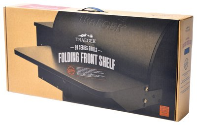 Traeger Folding Front Shelf – 20 Series – BAC361 – Fits Tailgater and 20 Series Models