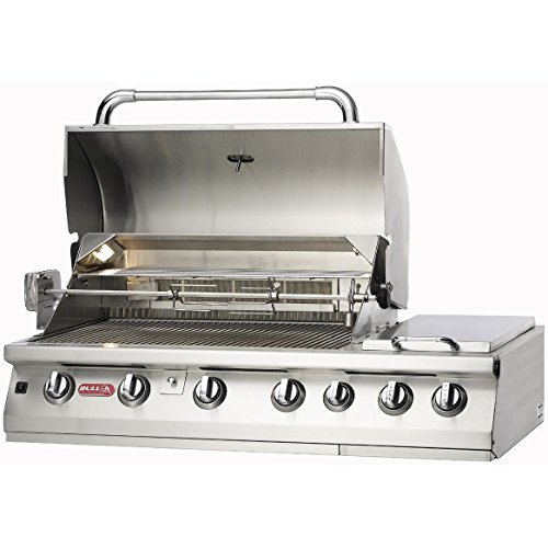 Bull Premium 7-burner Stainless Steel Built-in Natural Gas Grill
