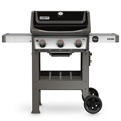 Weber 45010001 Spirit II E-310 Black LP Outdoor Gas Grill