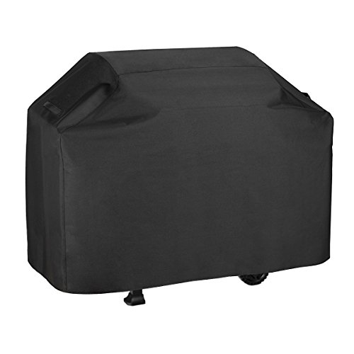 Love Story BBQ Grill Cover Outdoor Waterproof Dustproof Breathable Protection Sunscreen Duty Black 58 x 24 x 48 Inches