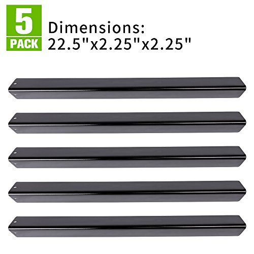 """XHome 22.5"""" Flavorizer Bar (5 Pack) Replacement for Weber Genesis Silver B and C, Spirit 700, Gold B & C, Genesis Platinum B & C and Weber 900 (22.5 x 2.25 x 2.25)"""