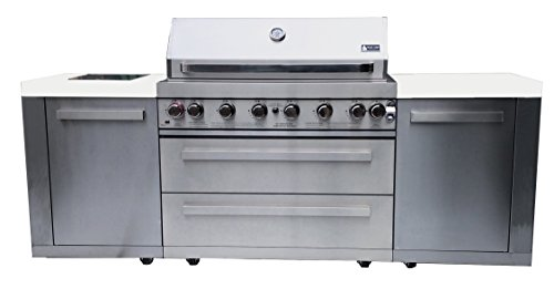 Mont Alpi 44″ MAI805 Outdoor Barbeque Island