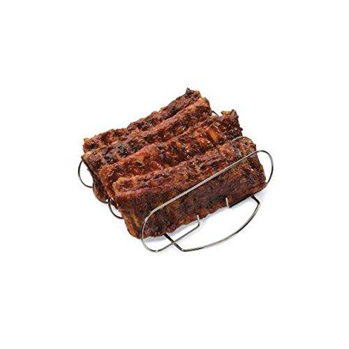 ARAD Grilling Accessories, Smoker Accessories, Rib Rack, Baby Back Rib Holder, BBQ Accessories, Grill Accessories, Grill Rack for Ribs, Steel Rib Rack, Rib Stand