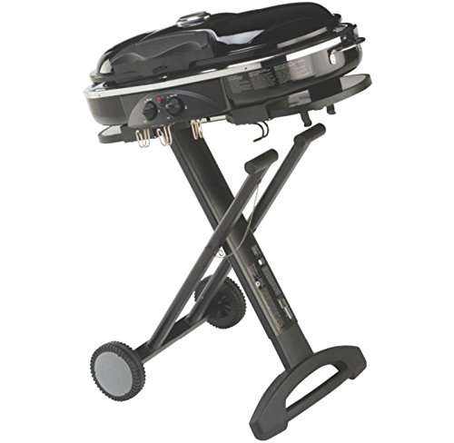 COLEMAN Camping Tailgating Portable Standup Propane RoadTrip LXX Grill – Black –P#EWT43 65234R3FA622260