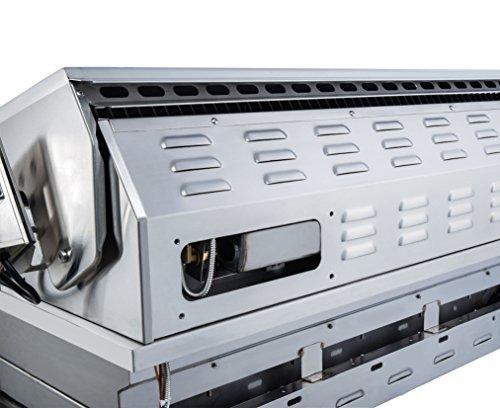 SUNSTONE RUBY3B-NG 3 Burner Pro-Sear Natural Gas, 30″