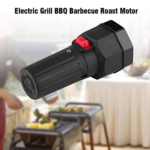 Secologo DC 1.5V Battery Powered Barbecue Motor Rotisserie Rotator Electric BBQ Grill Rotating Motor for Outdoor Picnic Grill Skewers