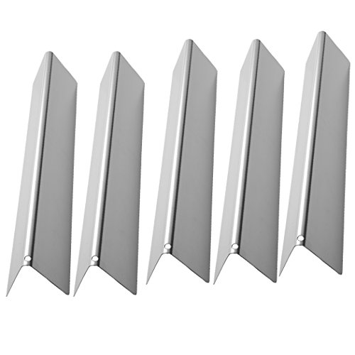 SUONA WS-36 Stainless Steel Flavorizer Bars Heat Plate/Tent Replacement Parts for Weber Spirit 300 310 320 E310 E320 Series Gas Grills with Front-mounted Control Panels, 15.3 x 2.6 x 2.5 inch, 5-Pack