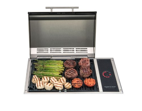 Kenyon B70050 Frontier All Seasons Built-In Stainless Steel Electric Grill, 120V
