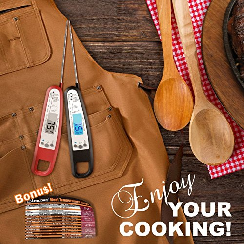 Instant Read Digital Meat Thermometer – eSamcore Food Thermometers – for Kitchen Cooking and BBQ Grilling