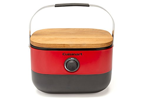 Cuisinart CGG-750 Venture Portable Gas Grill, Red