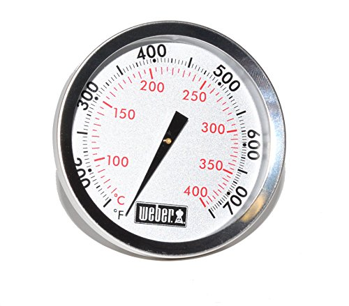 Weber Replacement Thermometer 67088, Center Mount, 2-3/8″ Diameter