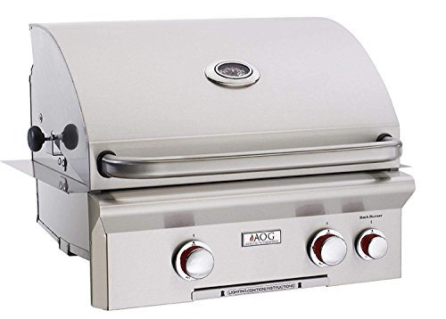 American Outdoor Grill 24 Inch Built-in Natural Gas Grill W/ Rotisserie