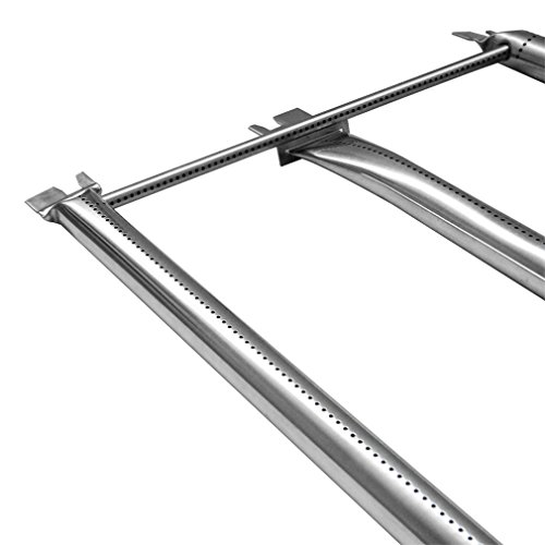 Onlyfire Stainless Steel Burner Tube Set Fits for Weber Genesis 300 Series Grills (2008-2010), 34-1/4″ Long