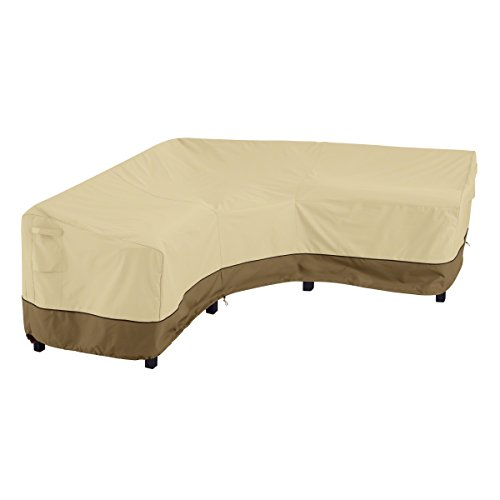 Classic Accessories Veranda Patio V-Shaped Sectional Sofa Cover, V-Shaped