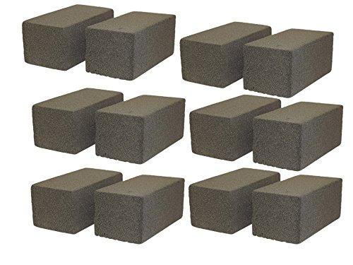 JA Kitchens Case of 12 Grill/Griddle Cleaning Bricks