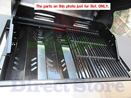 Direct store Parts Kit DG255 Replacement Sunbeam,Nexgrill,Grill Master 720-0737 720-0697 Gas Grill Repair Kit (3-Pack) Stainless Steel Burners & Porcelain Steel Heat Plates
