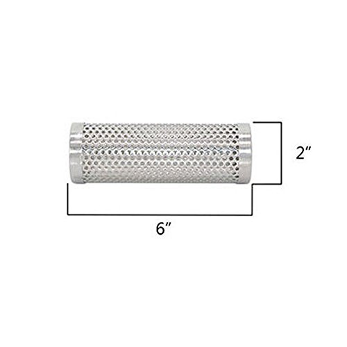 McDoo! Pellet Smoker Tube Stainless Steel BBQ Pellets Pipe Grill Smoke for Kitchen Cooking Outdoor Camping Picnic Round 6inch