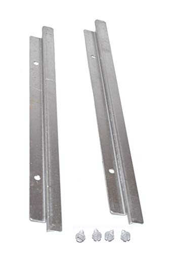 Weber 91356 12-3/4″ Grease Tray Rails for Spirit 300 Series, Model Years 2009-2012″.