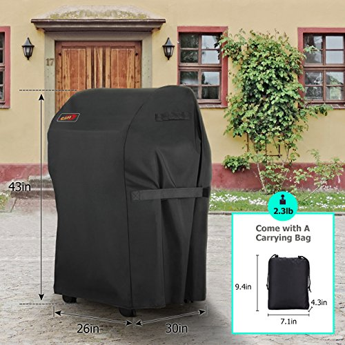 VicTsing Grill Cover, Small 30-Inch Waterproof, Heavy Duty Gas Grill Cover for Brinkmann, Char Broil, Holland and Jenn Air