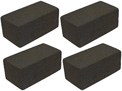 JA Kitchens Set of 4 Grill/Griddle Bricks – 8″ x 4″ x 3.5″ each