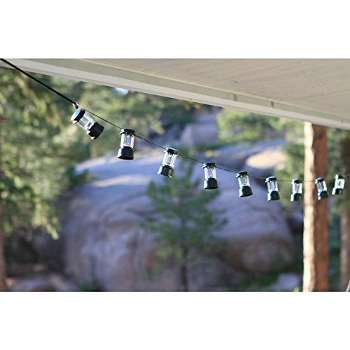 Coleman LED String Lights, 10 Lanterns