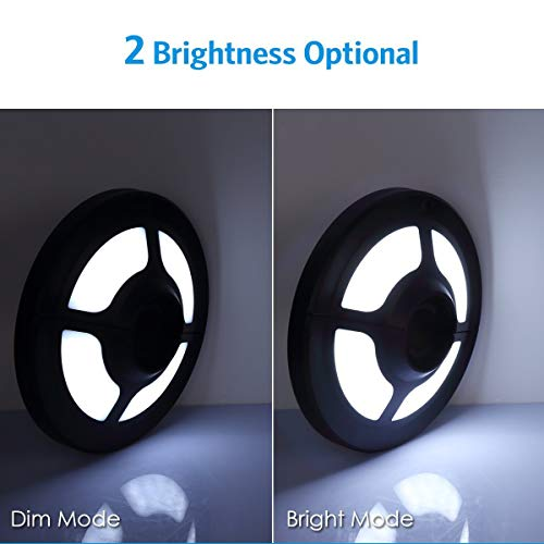 LIVE4COOL Patio Umbrella Light, 2 Brightness Modes Cordless 36 LED Lights at 220 lux – 3 x AA Battery Operated Umbrella Light, Umbrella Pole Light for Patio Umbrellas, Camping Tents, Beach Umbrella