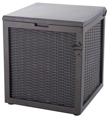 Sunjoy Group INTL PTE L-BC204PST-A 66 Quart Brown Wicker Cooler