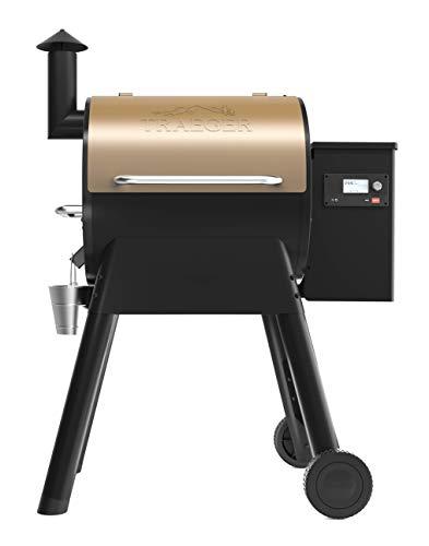Traeger Grills TFB57GZEO Pro Series 575 Grill, Smoker, Bronze