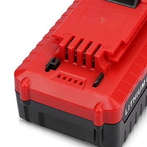 2x Murllen 20V 6.0Ah Replacement Battery Compatible with Porter Cable PCC685L PCC680L Cordless Tools Batteries