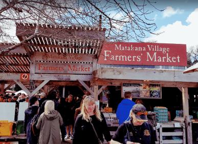 ▲Matakana Village Farmers Market