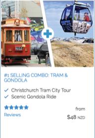 Tram & Gondola price