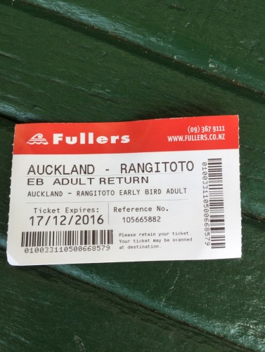 Rangitoto Island 船票