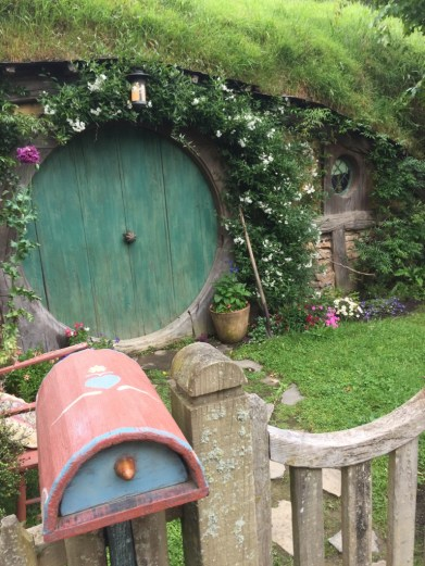 ▲Hobbiton Movie Set