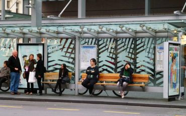auckland bus stop