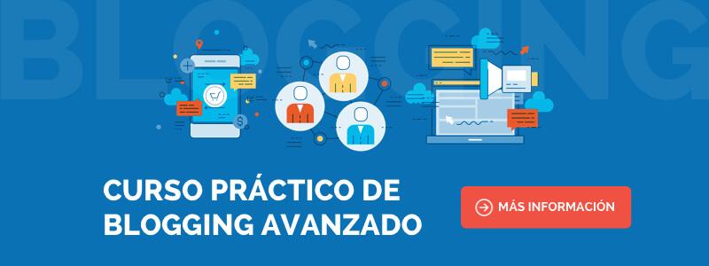 Curso de Marketing de Contenidos y Blogging