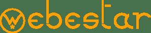 Le texte du logo de webestar agence de communication à Marseille.