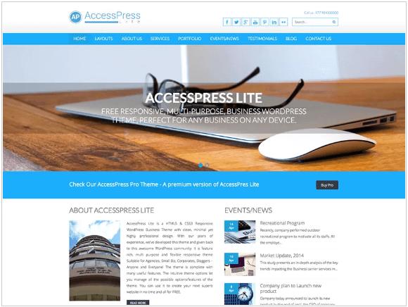 Accesspress Lite WordPress Theme