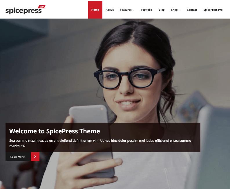 spicepress wordpress theme