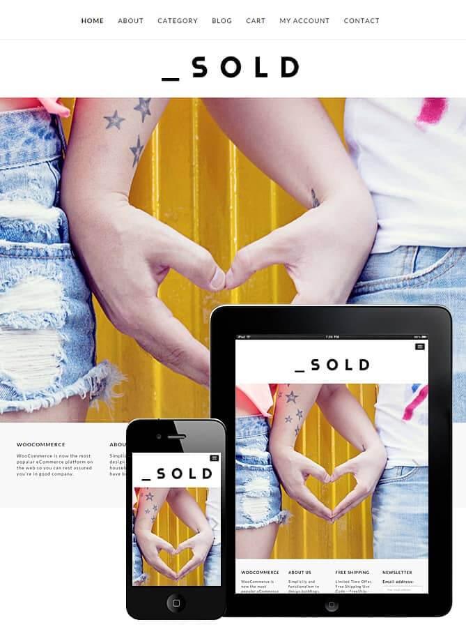 Sold WooCommerce