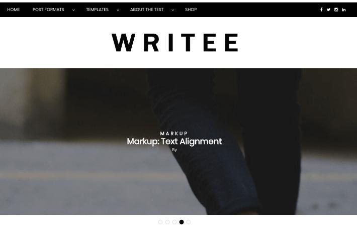 writee wp theme