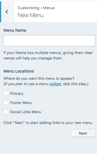 create-your-first-menu-on-wordpress