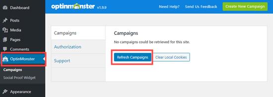 Refresh Campaigns