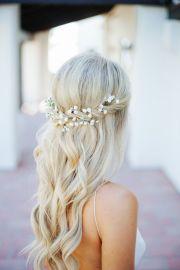 penteados de noiva flores