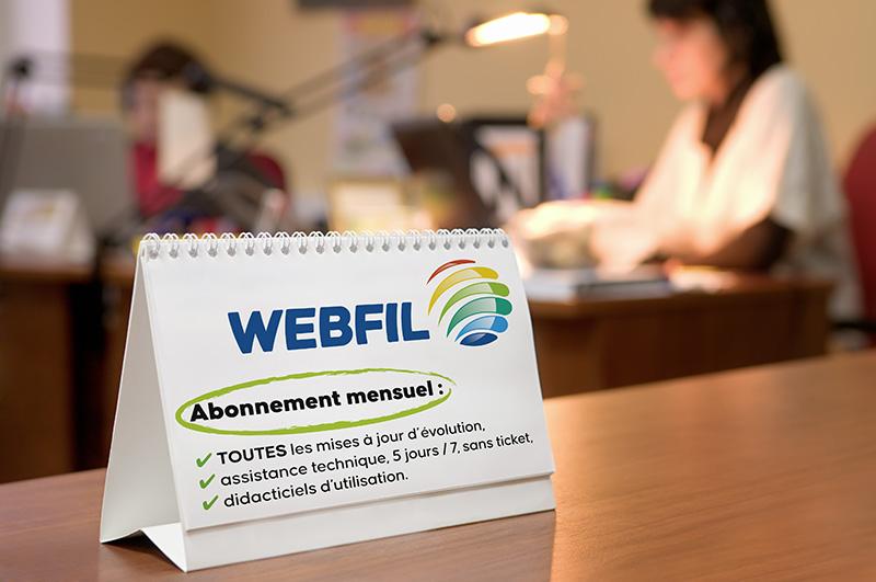 WebFil global, la solution de gestion pour la restauration collective, avec des formules en abonnement mensuel.