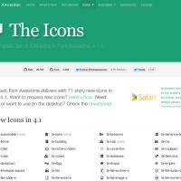 無料でダウンロードできるWebアイコンフォントFont Awesomeの使い方〜サイズ変更とボタン化